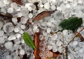 How and why are hailstorms formed?
